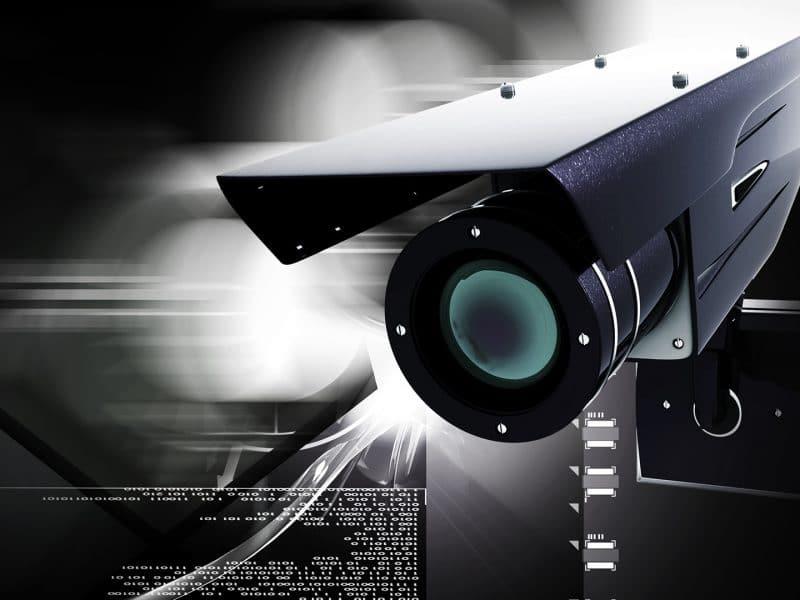 Güvenlik Görevlilerine Destek Güvenlik Kameraları
